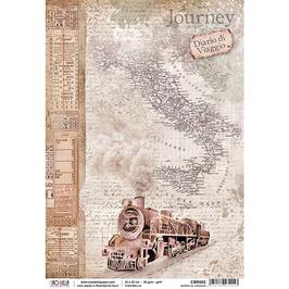 Ciao Bella-Reispapier/CBR002-Diario di viaggio
