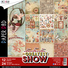 Scrapbooking Papier Ciao Bella-The Greatest Show (1) 12x12""