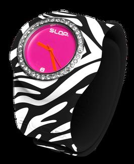 Slapwatch Zebra Bling