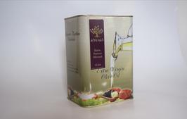 3 Liter Armenos-Olivenöl extra nativ ungefiltert.