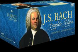 Bach-Musik-Gesamtwerk / Complete Edition auf 142 CDs + 10 kostenlose Bach-Zugaben
