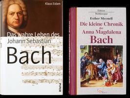 Biografien von Eidam + Meynell als Kombi, gebraucht + 2 Bach-Geschenke *
