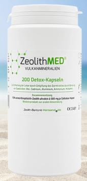 Zeolith MED® Detox-Kapseln / 200 Stk.