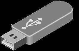 USB - Stick mit den Stücken aus den Notenheften als Mp3