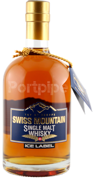 Swiss Highland Single Malt Ice Label