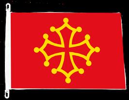 DRAPEAU LANGUEDOC (Occitanie)