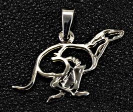 Greyhound Typ I.  als Scherenschnitt