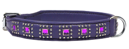 "Halsband ""Dallas"" - pflaume"