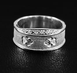 Ring mit Krone & Pfoten: GMH-330s