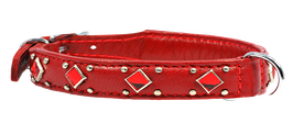 "Halsband ""Washington"" - rot"