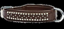 "Halsband ""Las Vegas"" - schokoladen-braun"