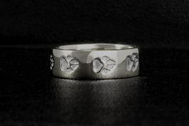 Ring mit Pfotenspur: GMH-449s