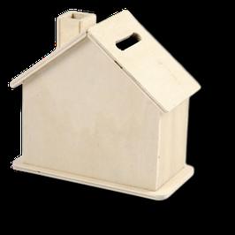 Spardose Haus