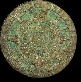 Betonform Azteken-Kalender