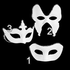 Maske zum Bemalen