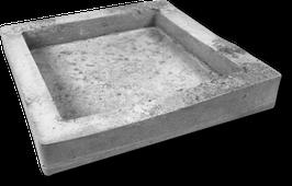 Betonform Quadratschale