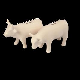 Spardose Kuh