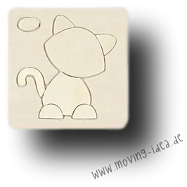 "Puzzle ""Katze"""