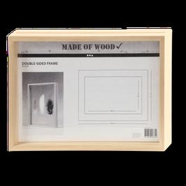 Doppelrahmen aus Holz Maxi