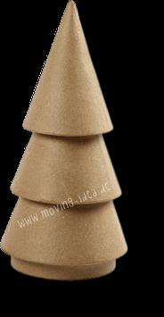 Tannenbaum aus Pappmaché