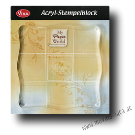 Acryl-Stempelblock