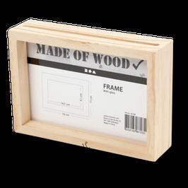 Doppelrahmen aus Holz