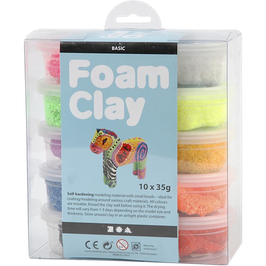 Foam Clay Basis Set