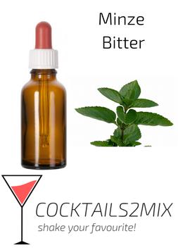 20 ml Minze Bitter