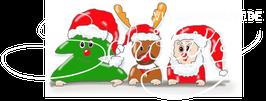 Tanne, Rudi + Santa