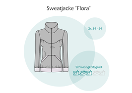 "ebook Sweatjacke ""Flora"""