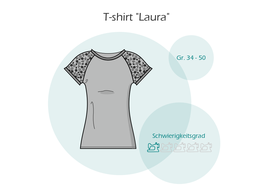 "ebook T-shirt ""Laura"""