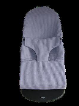 Schonbezug - weicher Piqué passend für Babybjörn Wippe