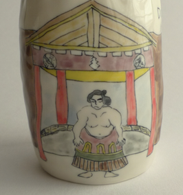Cup - Sumo Wrestler