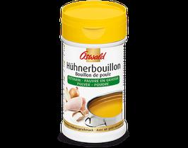 Hühnerbouillon fettarm / Léger bouillon de poule granulé
