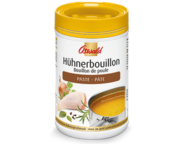 Hühnerbouillon PASTE / Bouillon de poule spécial