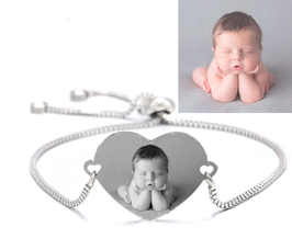 Personalisiertes Armband mit Foto