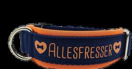 Halsband Allesfresser orange/blau