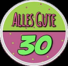 Alles Gute - 30