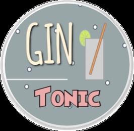 GIN Tonic mit Glas