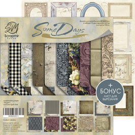 New Papel scrapbooking 30x30 cm Some days