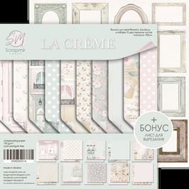 New Papel scrapbooking 20x20 cm La creme