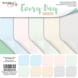 La coleccion basica Every day pastel 20x20 cm Scrapmir