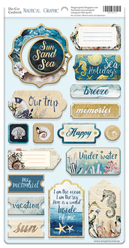 Nautical Graphic  Chipboard