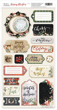 Chipboard Scrapmir Merry Christmas NEW