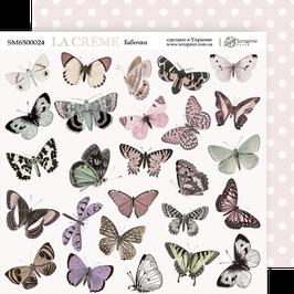 Hoja para recortar mariposas 20x20 cm La creme