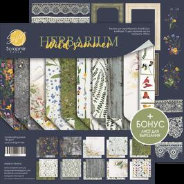 New Papel scrapbooking 30,5x30,5 cm Herbarium Wild Summer