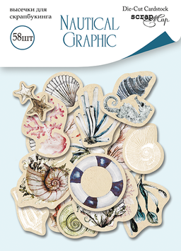 Nautical Graphic Die cut