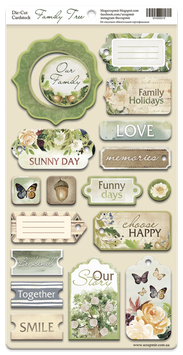 PSB-61 Chipboard  Family tree