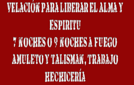 Velacion Sanacion Alma, Amuleto Y Talismán, Vidente Poderoso