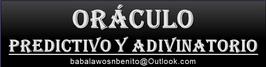 Oráculo Adivinatorio Consultado por Babalawo Sn Benito